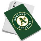 Oakland A's Playing Cards